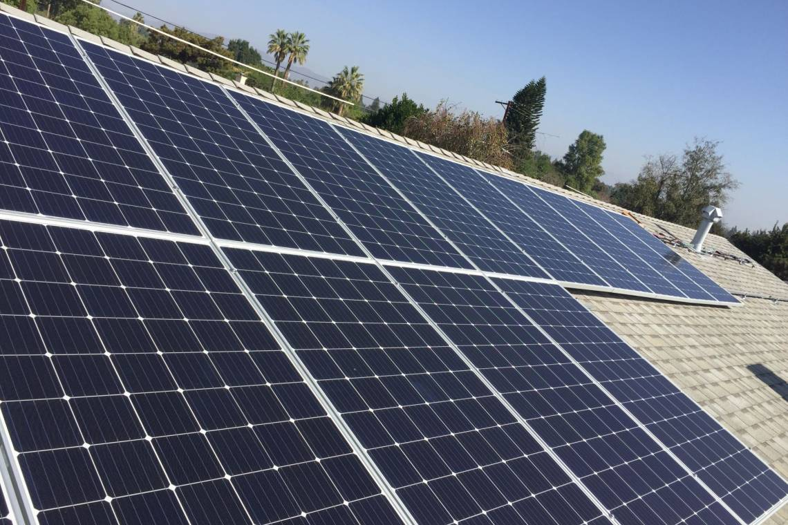 Northridge solar panel installation