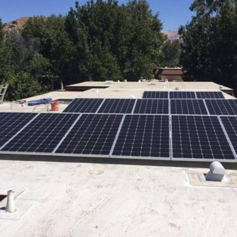 Northridge solar installation