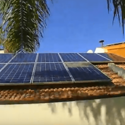 Fountain Valley solar installation