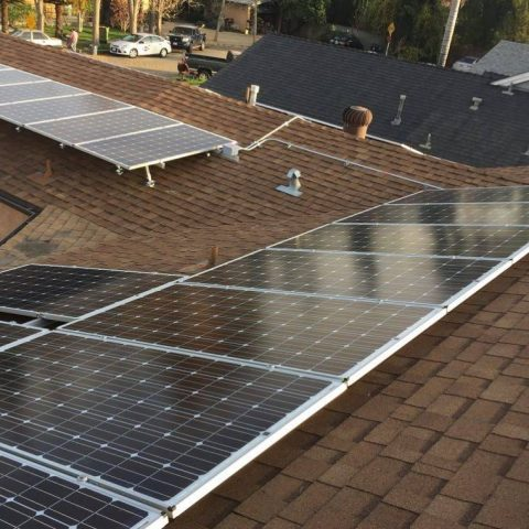 North Hollywood solar installation