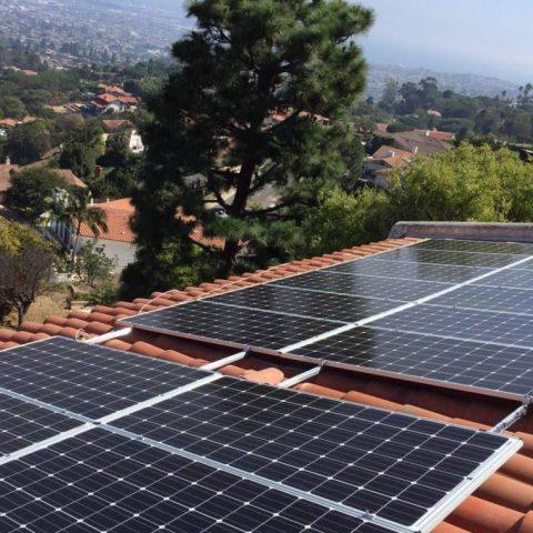 Rancho Palos Verdes solar installation