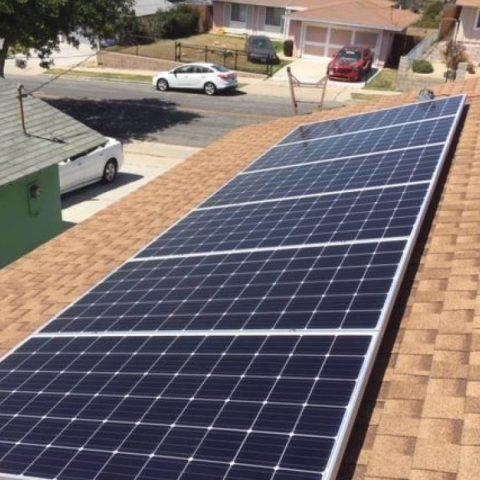 San Diego solar installation