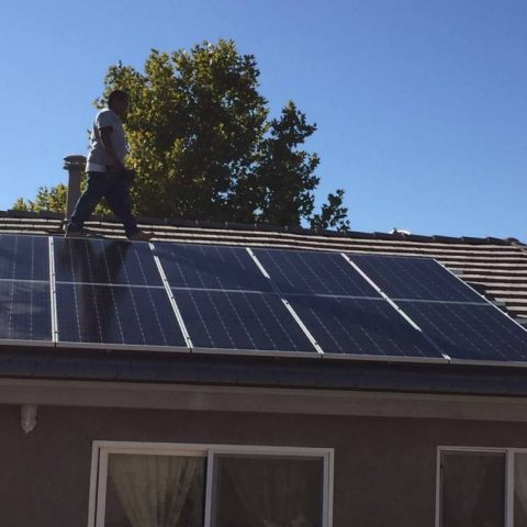 Simi Valley solar installation
