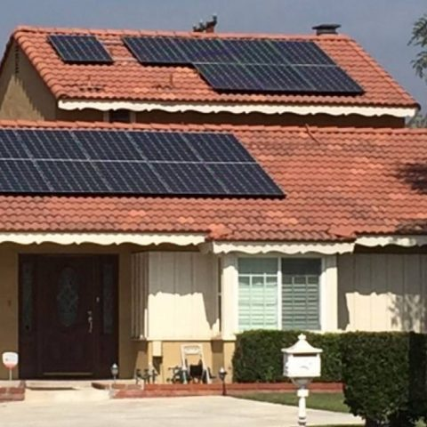Temple City solar installation