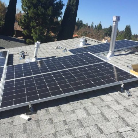Thousand Oaks solar installation