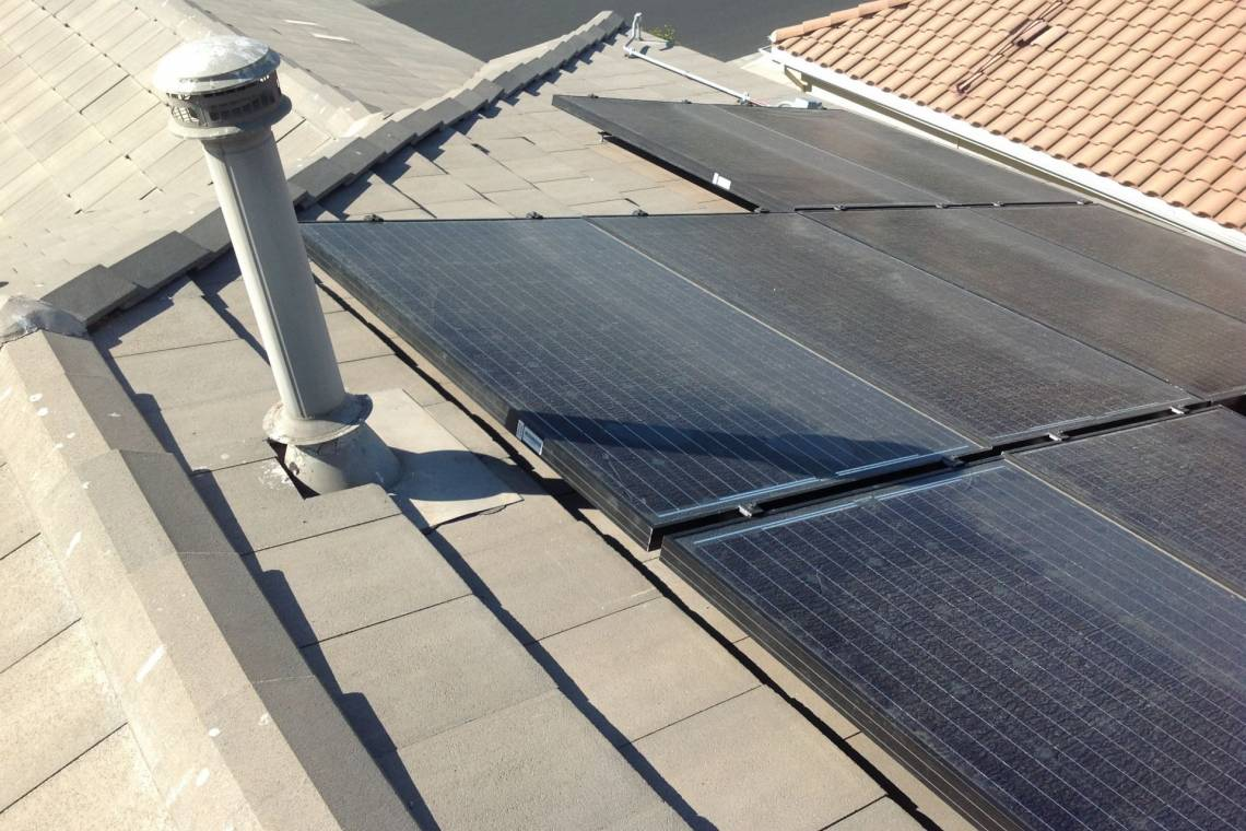 Walnut solar installation